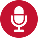 microphone icon red