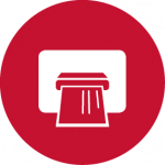 printer icon red