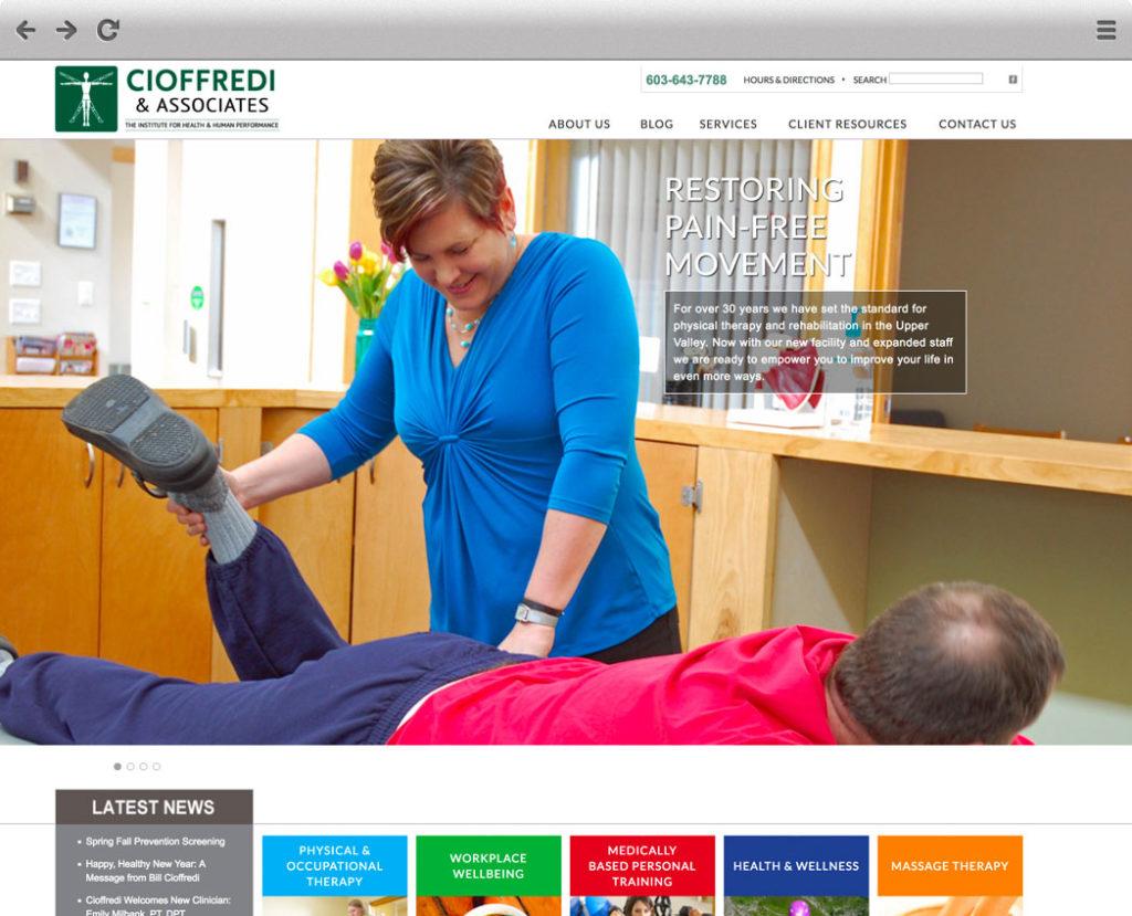 Old Cioffredi Homepage Screenshot